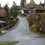 Die Abzweigung des Fuchsweges von der Straße Am Bühberg   ---    --- Fotos: K.H.Bleß