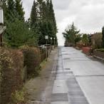 Die Straßenlaternen wie hier im Marderweg sind nicht sehr hell, dafür zahlreich. Derzeit sieht der Bürgermeister keinen Grund, sie zu erneuern.
