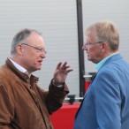 Ministerpräsident Weil und Bürgemeister Dr. Gans im Gespräch