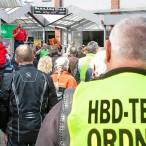 Begrüßung: Dr. Thomas Gans begrüßt die zahlreichen Biker ---  ---  Fotos: K.H.Bleß