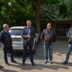 Dr. Thomas Gans dankt allen Beteiligten, die am Bau des Parkplatzes mitgewirkt haben.   - - - Fotos: Karl Heinz Bleß