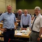 Dr. Thomas Gans, Dieter Haberlandt und Uwe Weick   ---   Fotos: Karl Heinz Bleß