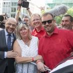 Eine persönliche Begegnung mit Martin Schulz - festgehalten auf einem Foto
