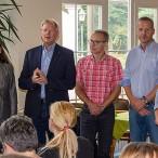 Die Jury: Inge Holzigel, Jörg Beckmann, Rolf Lange und Cornelia Bär.   --  Fotos: K.H.Bleß  ----