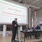 Der HTV-Vorsitzende (und Landrat des Landkreises Harz) Martin Skiebe bei der Mitgliederversammlung in Goslar
