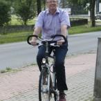 Radeln durch die Stadt macht fit und ist gut fürs Klima.    ---   Foto: Karl Heinz Bleß