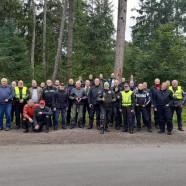 Gruppenbild der Teilnehmer zum Schluss der Bürgermeistertour 2021