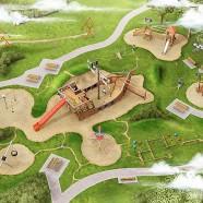 So könnte ein solcher Traumspielpark aussehen  -- - -  Grafik: radio ffn