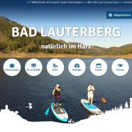 Die neue Startseite der Stadt Bad Lauterberg