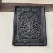 Die Wappentafel von Georg II.