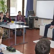 Thomas Gans im Unterricht der KGS