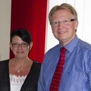 Diana Benneckenstein und Dr. Thomas Gans