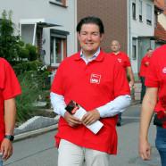 Die drei Spitzenkandidaten: vlnr: Dr. Andreas Philippi, Marcel Riethig, Dr. Thomas Gans