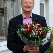 Dr. Gans freute sich sichtlich über das große Vertrauen, das ihm die SPD Bad Lauterberg entgegenbrachte. (Foto: S. Kilzer)